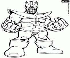 Kleurplaten Super Hero Squad Kleurplaat