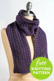 Knitted Scarf Pattern