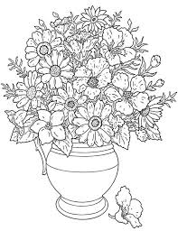 Small Picture coloring pages of flowers in a vase california poppy in a vase