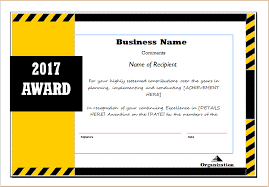 Sample Certificate Award Award Certificate Sample Template For Ms Word Document Hub