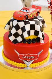 Cars Table Decorations Disney Cars Cupcakes Pinteres