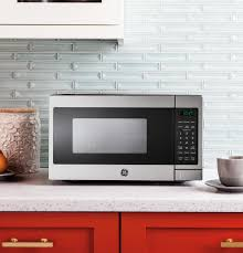 Kitchen Microwave Gear 07 Cu Ft Capacity Countertop Microwave Oven Jem3072shss
