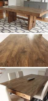 Building Dining Table 17 Best Ideas About Diy Dining Table On Pinterest Farmhouse