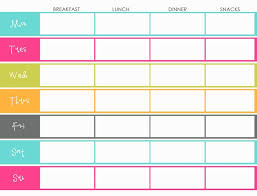 monthly meal planner template monthly meal planner app oyle kalakaari co