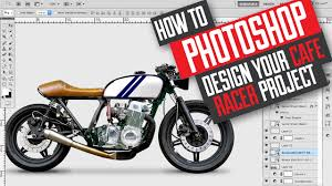 how to photo design and build a cafe racer scrambler motorcycle
