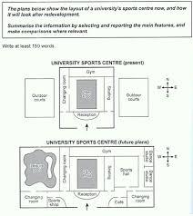 Ielts Academic Floor Plan Diagram Writing Task 1