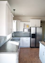 classic dining room tip about diy concrete counters poured over laminate averie lane diy