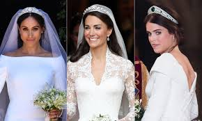 bridal beauty secrets from kate middleton meghan markle and princess eugenie