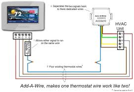 4 wire thermostat diagram 4 wiring diagrams online 4 wire thermostat diagram