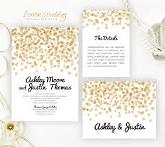 Polka Dot Invitations Polka Dot Wedding Invitation Sets