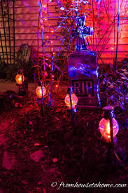 Outdoor Halloween Lights Halloween Outdoor Lighting Ideas 18 Spooky Ways To Light