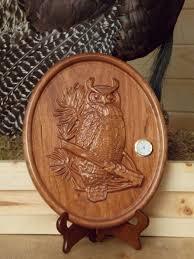 Wood Carved Wall Decor Owl Wall Clock Wood Wall Art Owl Wall Decor Clock 3d Wood