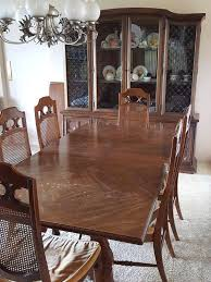 cly design ideas real wood dining room sets solid table with 6 chairs and hutch cabinet listing item made in usa
