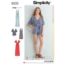 Simplicity Jumpsuit Pattern