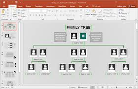 famiy tree animated family tree powerpoint template