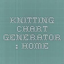Knitting Chart Generator Home Knitting Knitting Charts