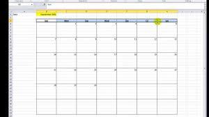 Excel Calendar Schedule Excel Vba Tips N Tricks 16 Make A Calendar In Excel Vba Youtube