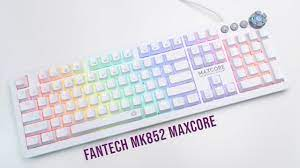 Fantech MK852 Maxcore Review | White Space Edition Gaming Keyboard - YouTube