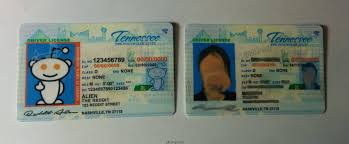 Tennessee Id Fake Maker Card
