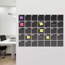 HOME DZINE Craft Ideas | DIY Chalkboard wall calendar ideas