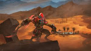 bounty hunter the crimson marauder dota 2 wallpapers