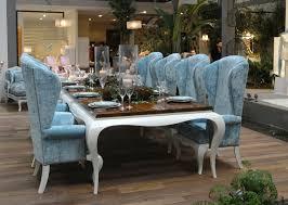 royal blue velvet dining chairs
