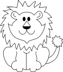 Disegni Da Colorare Animali Leone Fredrotgans