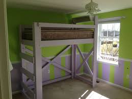 bedroom frame diy loft build queen homemade with desk underneath instructions bunk plans slide building