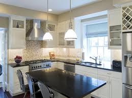 Granite For White Cabinets White Kitchen Cabinets With Dark Granite Countertops Monsterlune
