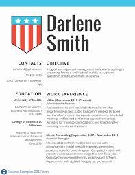 Good Resume Examples 2017 Federal Resume Samples Awesome Resume Samples Careerproplus 92