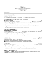 Accounting Firm Resumes Recent Accounting Grad Please Tear My Resume Apart Resumes