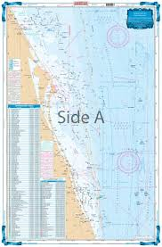 Cape Canaveral Offshore Fish And Dive Chart 124f