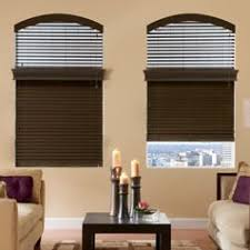 trendy office designs blinds. 2 Brown Blinds Open At The Top Of Window And Closed On Bottom Half Trendy Office Designs M