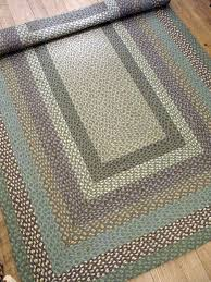 large braided jute rug