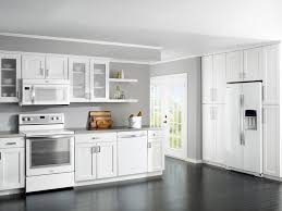 Delectable Grey Kitchen Cabinets And Flooring Ukiah For Small Ideas
