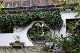 lan su chinese garden in old town portland