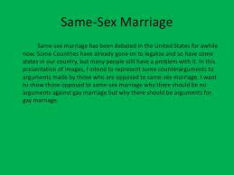 same sex marriage powerpoint  same sex marriage<br > same sex marriage has been debated in