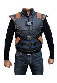 men s avengers black panther erik killmonger michael b jordan vest killmonger costume
