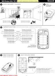 Honeywell Motion Sensor Red Light 8dl5898 Dual Tech Motion Detector User Manual P800
