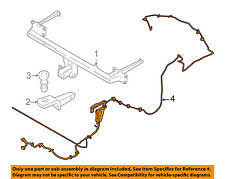 car & truck towing & hauling for ford edge , genuine oem ebay 2008 Ford Edge Trailer Wiring Harness ford oem trailer hitch rear bumper wire harness ft1z15a416a Ford Edge Trailer Wiring Harness Connections