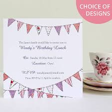 country bunting purple accent text