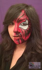 tiger face paint design spider woman