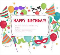 Print Birthday Invitation 25 Free Printable Birthday Invitations Psd Ai Illustrator