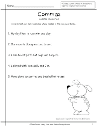 Commas In Dates Worksheets Tusfacturas Co