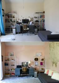home office makeover. A Blush Home Office Makeover In Sherwin Williams Romance R