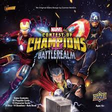 Details About Marvel Contest Of Champions Presale Board Game Upper Deck New