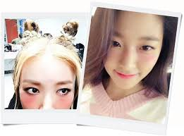 igari makeup is also the key word in the entertainment industry korean celebrities also applied blush under the eyes and unveiled the selfies with the