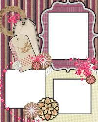 Sweetly Scrapped Free Scrapbook Layout Template Love Of