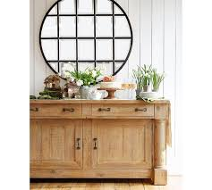 Pottery Barn Mirrored Furniture Eagan Multipanel Round Mirror Pottery Barn Au