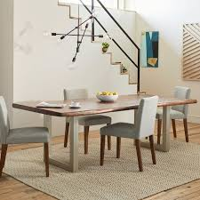 live edge wood dining table west elm for room decor 12